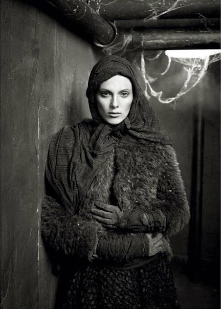 Красота повзрослевших моделей в Vogue Italia