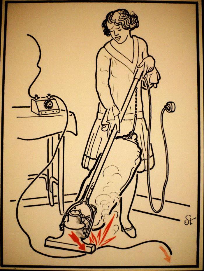 30 способов помереть от электричества: иллюстрации 1930-х годов