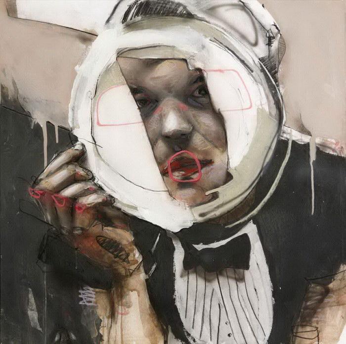 Эмоциональные картины Lou Ros