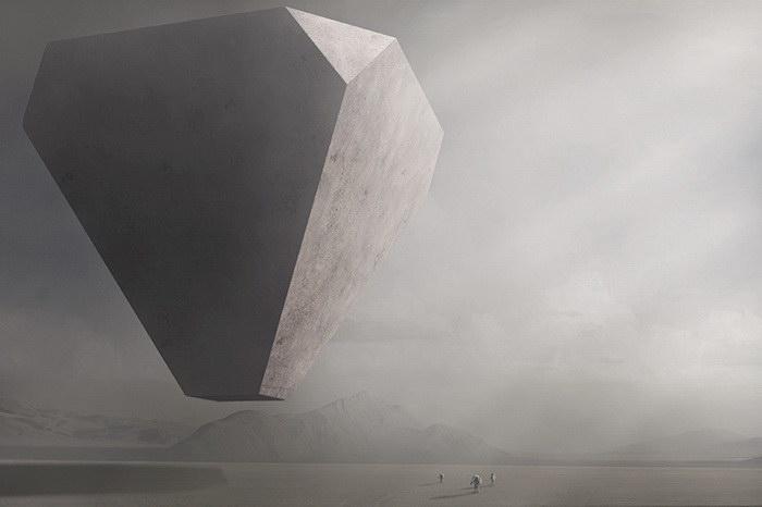 Атмосферные картины Nick Stath