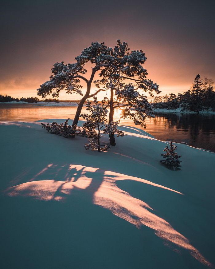 Природа Финляндии в фотографиях Mikko Lagerstedt