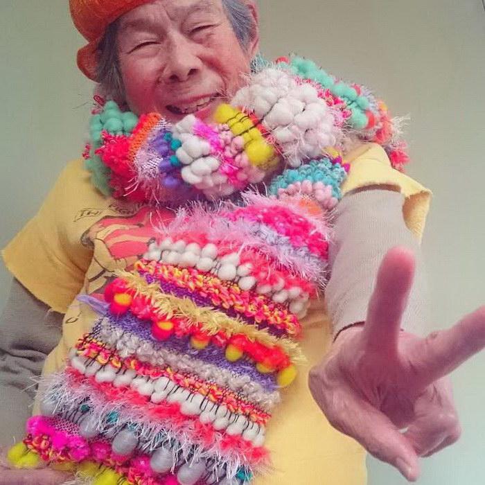 Самая задорная 93-летняя бабушка в мире