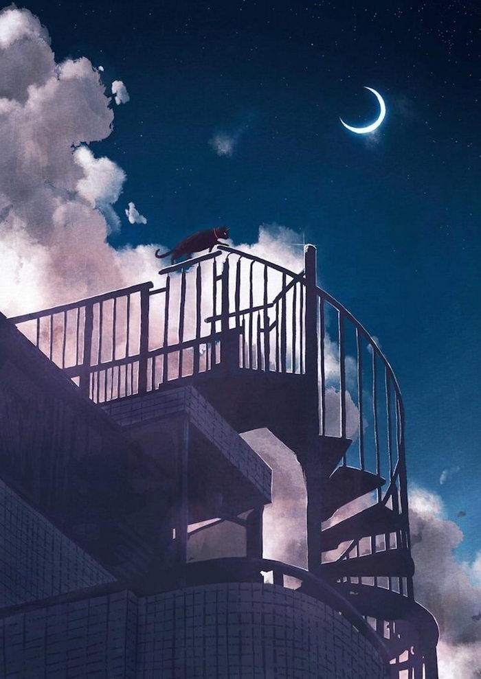 Мечтательные иллюстрации Joze Shimazaki