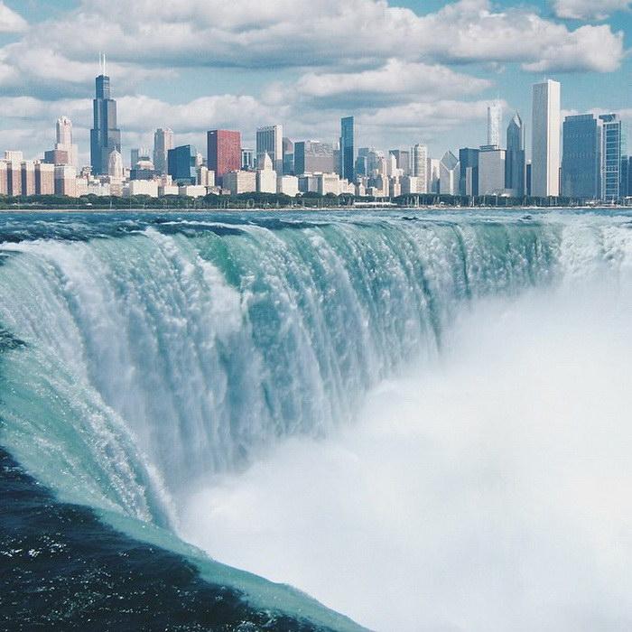 Наводнение мегаполисов Elise Swopes