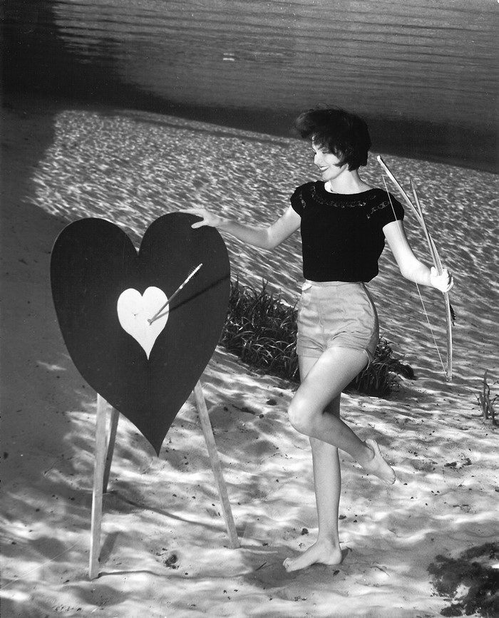 Подводный пин-ап 1938 года: фотографии Bruce Mozert