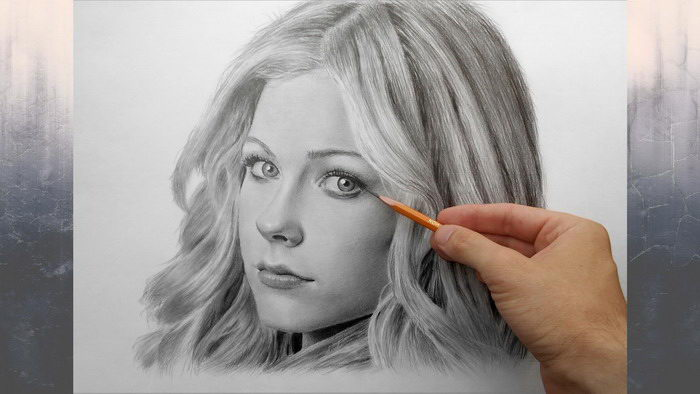 портрет с фотографии