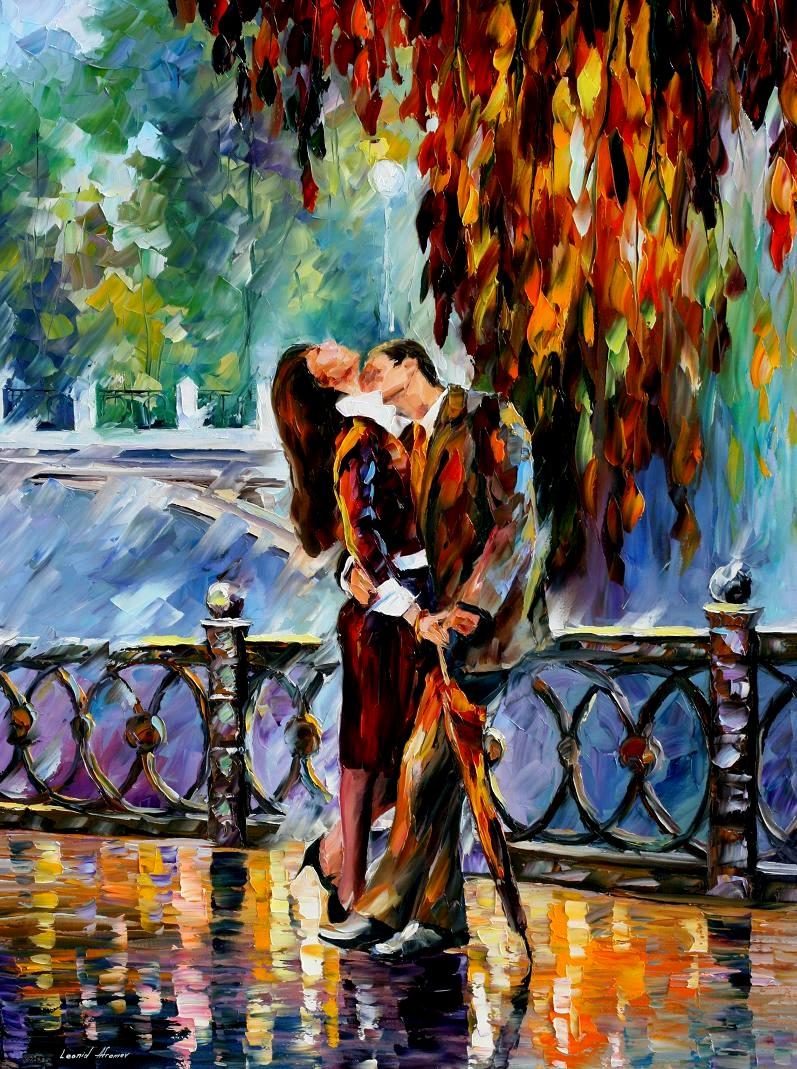Яркие картины Леонида Афремова