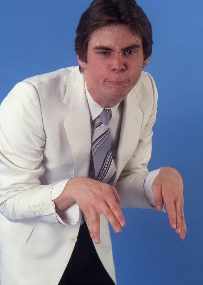 Джим Керри в фотосессии 1992 года изображает других знаменитостей