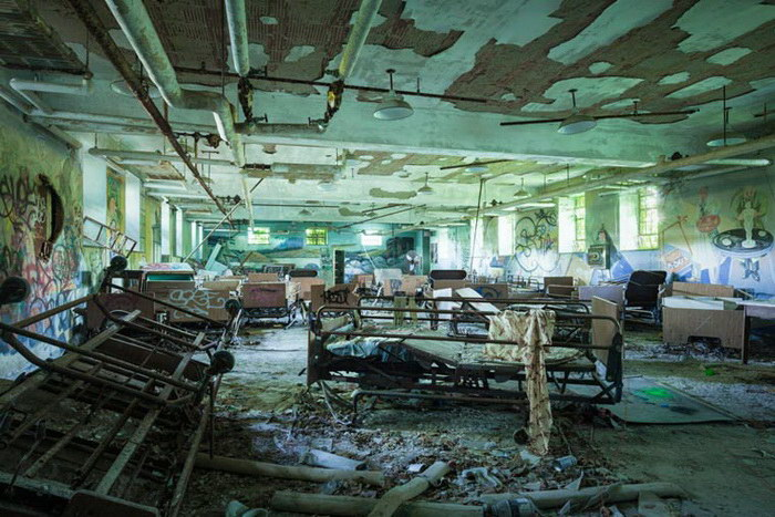Заброшенные здания Нью-Йорка