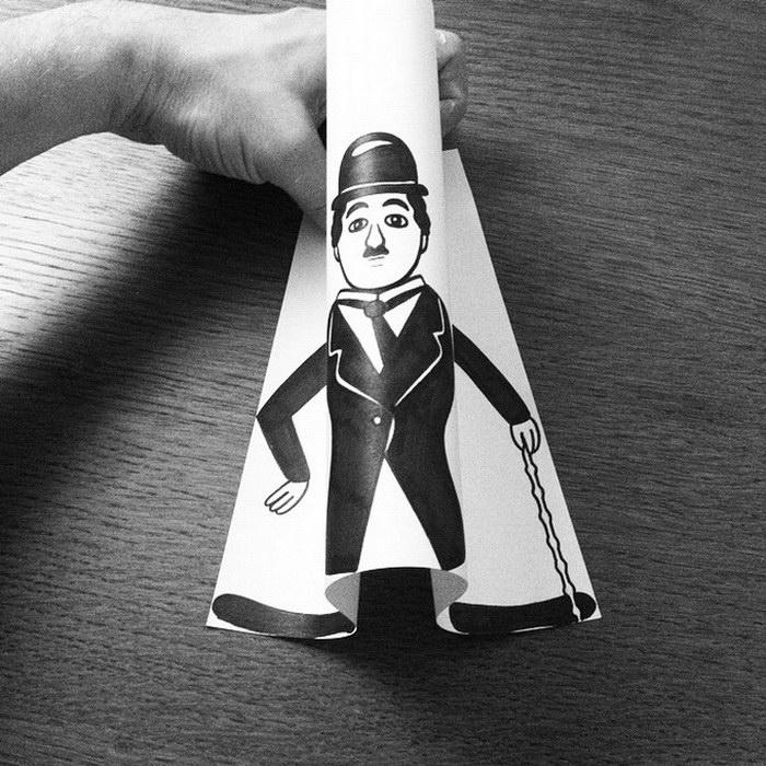 Бумажные иллюстрации Husk Mit Navn