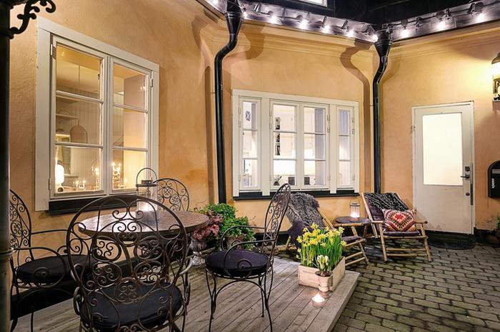 Уютный дом в центральной части Стокгольма