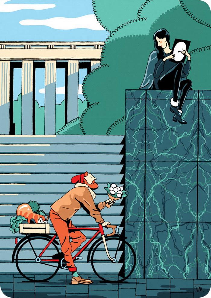 Иллюстрации Vincent Mahe