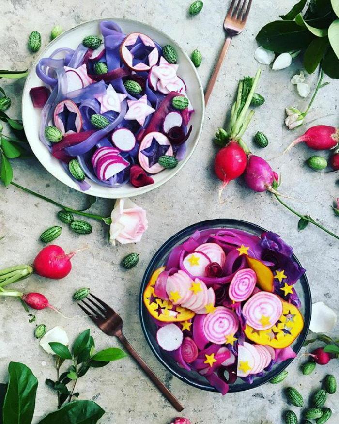 Радужная лапша: новый тренд в еде