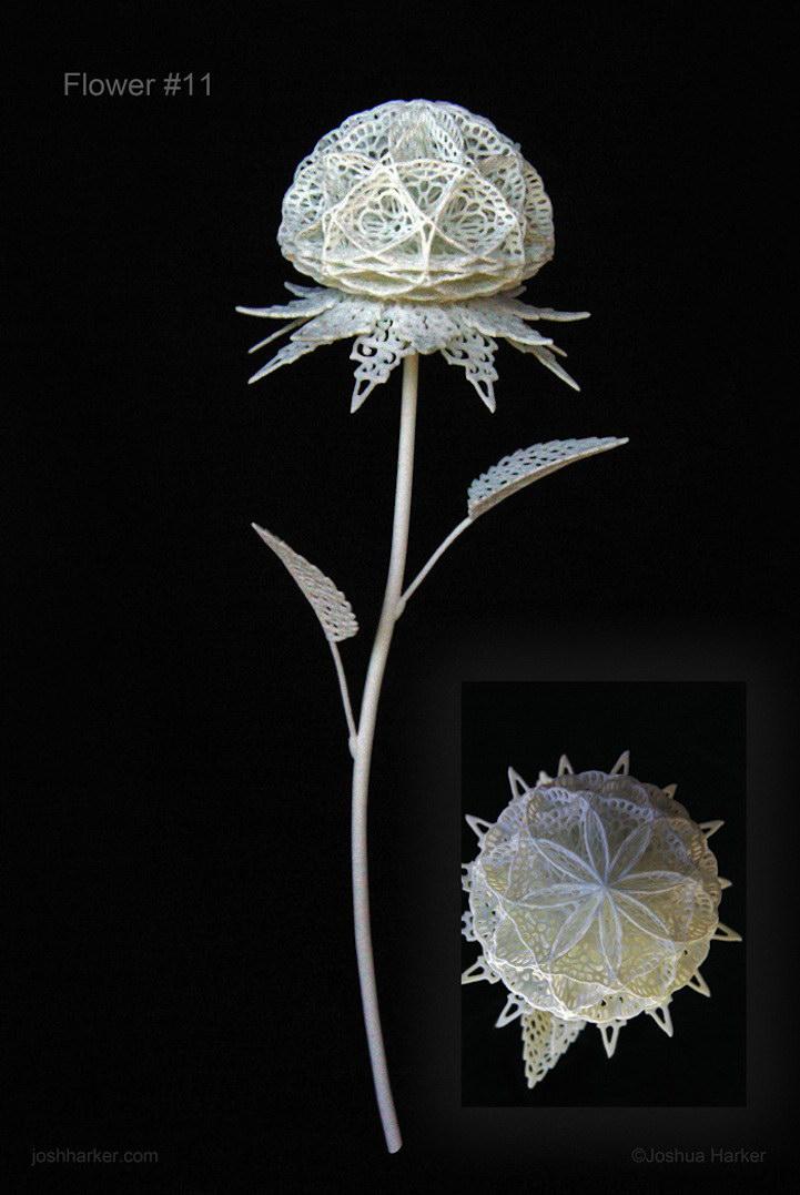3D-цветы