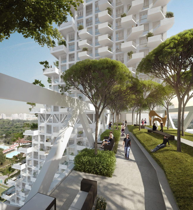 Дом Sky Habitat