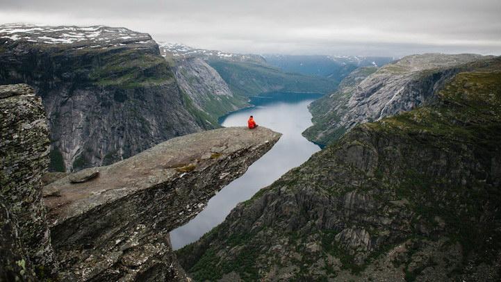 Местечко в Норвегии