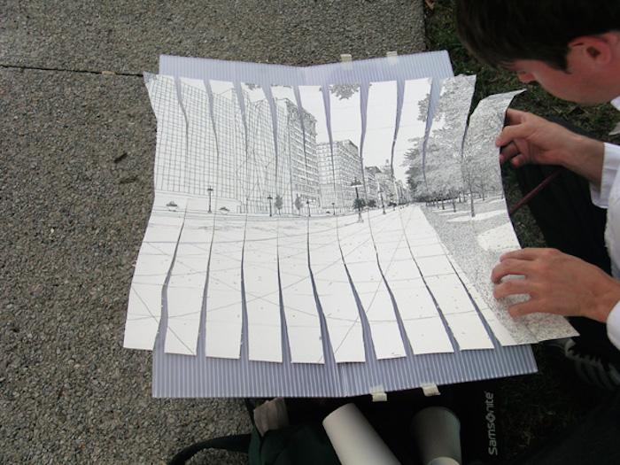 Механизм, рисующий в 3D