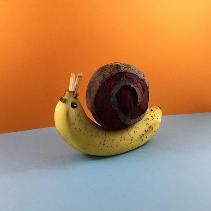 Искусство еды в работах Mundane Matters