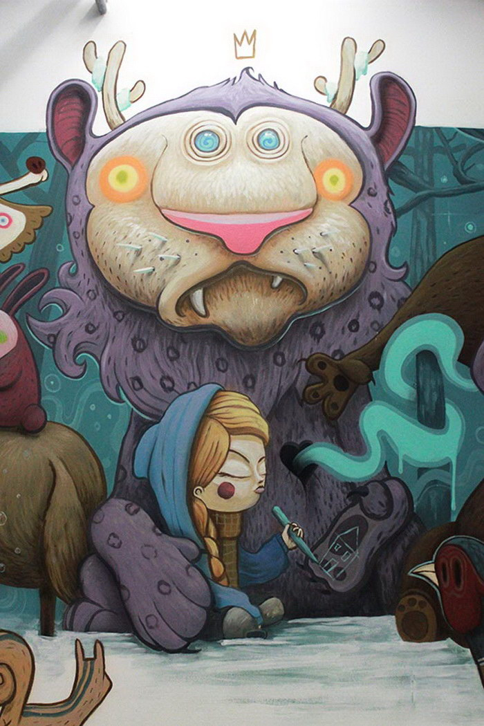 Психоделические иллюстрации Antonio Segura Donat