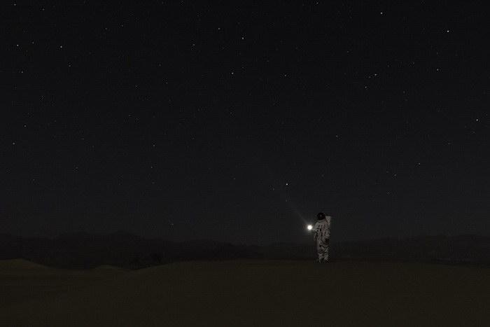 Первые люди на Марсе в фантазиях Julien Mauve