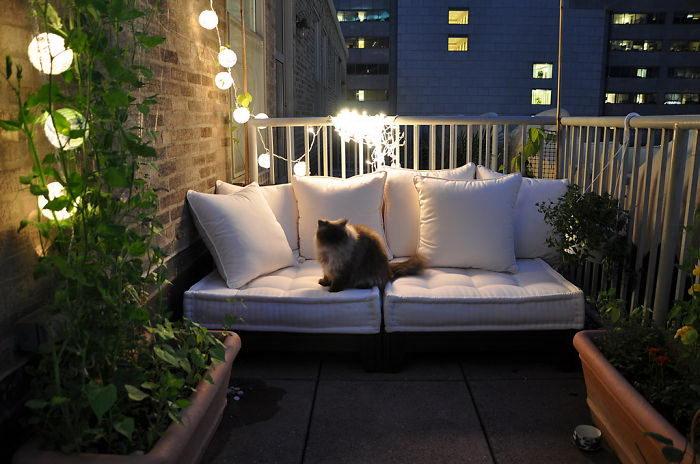 20 очень уютных балконов, на которых хочется жить