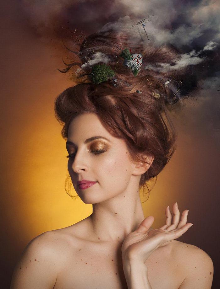 Мысли и мечты людей в их портретах: работы Genevi?ve Bellehumeur