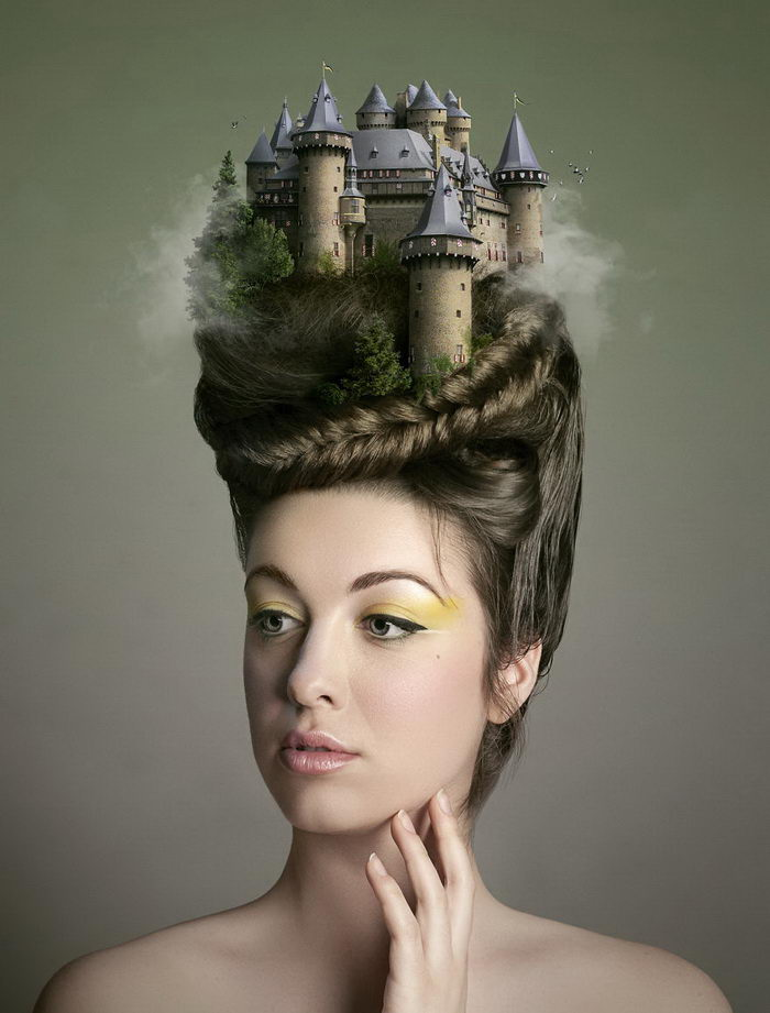 Мысли и мечты людей в их портретах: работы Geneviève Bellehumeur
