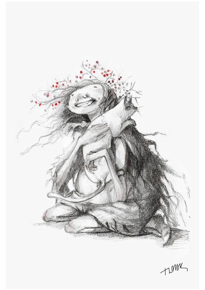 Иллюстрации Марины Адамовой