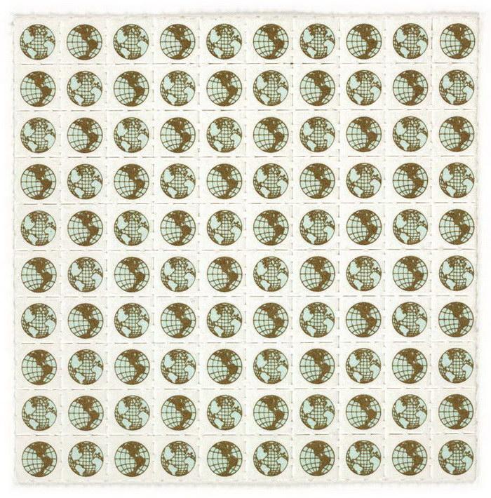 Самая большая коллекция ЛСД-блоттеров в мире