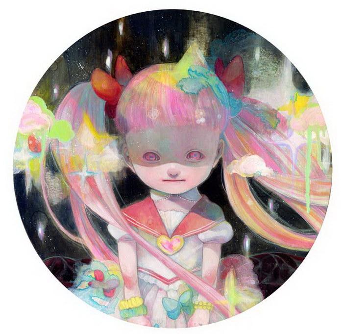 Необычные картины Hikari Shimoda