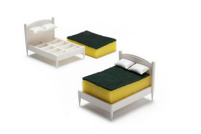 Спальное место для вашего кухонного спонжа