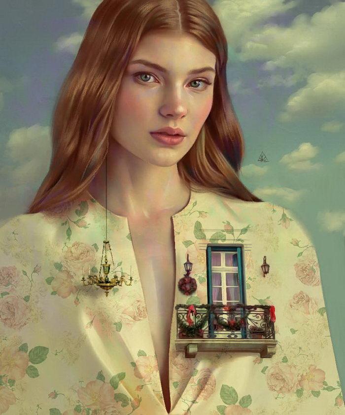 Мечтательные иллюстрации Aykut Aydogdu