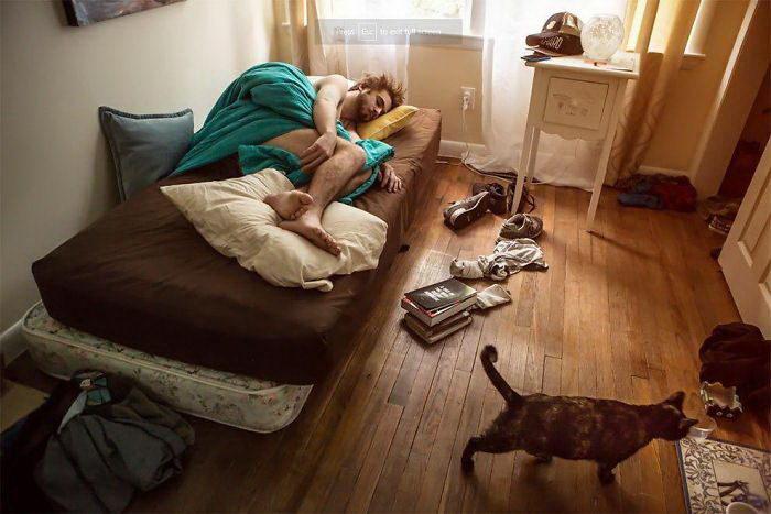 25 спален жителей США: проект Barbara Peacock