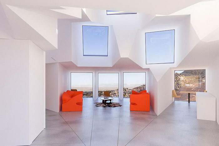 Joshua Tree: резиденция в пустыне Невады