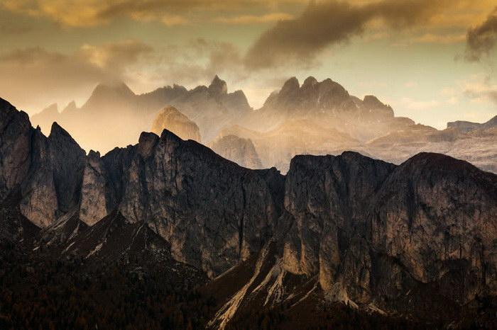 Осенние Доломитовые Альпы в фотографиях Mikolaj Gospodarek