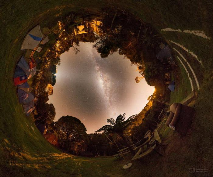 Звездное небо в фотографиях Petr Hor?lek