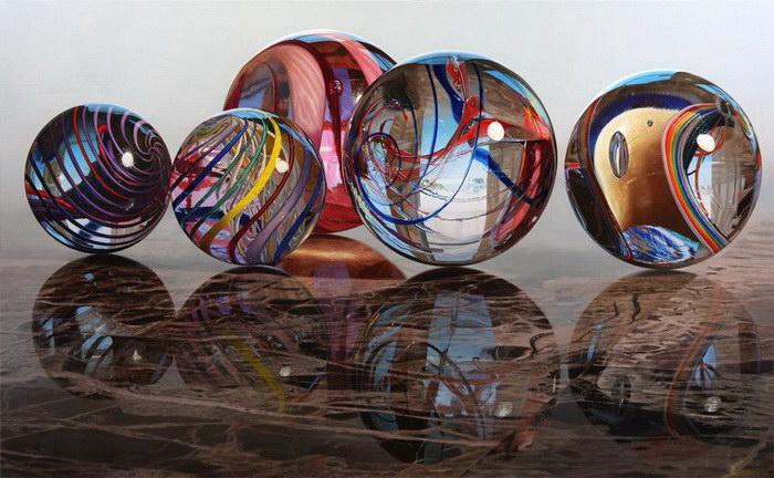 Невероятно реалистичные картины Steve Mills