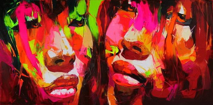 Яркие картины Francoise Nielly