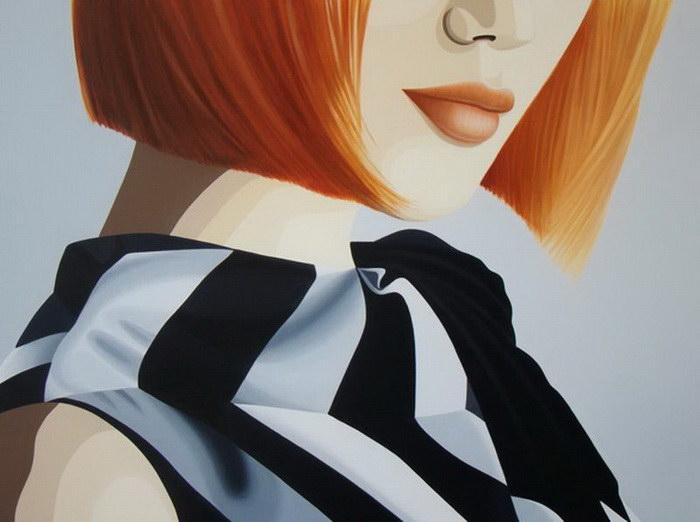 Загадочные женщины: иллюстрации Luiz Arantes