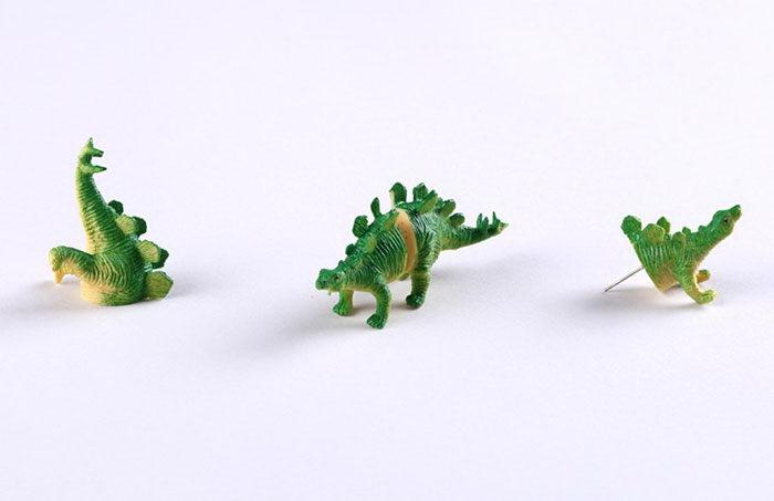 Сережки-динозавры для модниц, любящих палеонтологию
