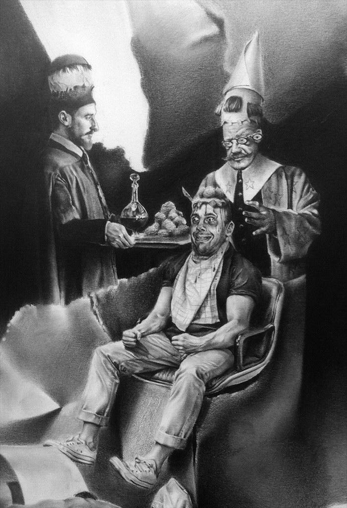 Безумные картины Robert McNally