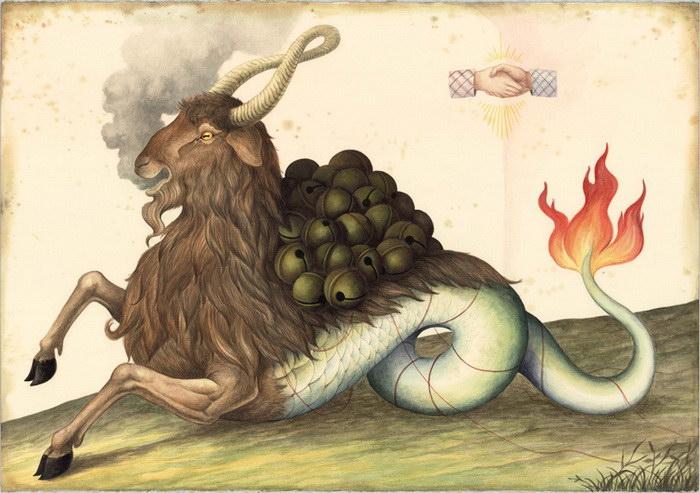 Эзотерические картины El Gato Chimney