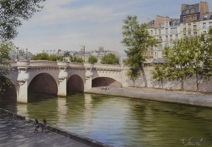 Акварели Thierry Duval