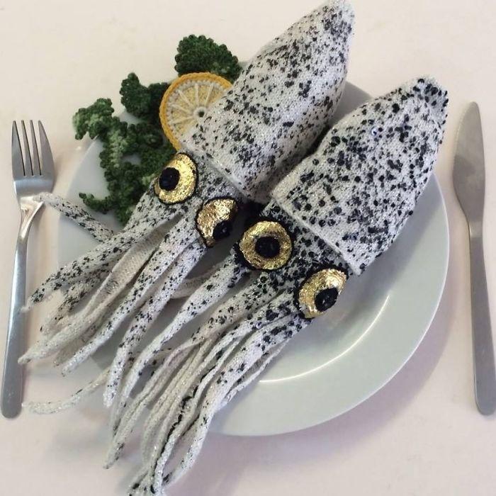 Вязаные морепродукты Kate Jenkins