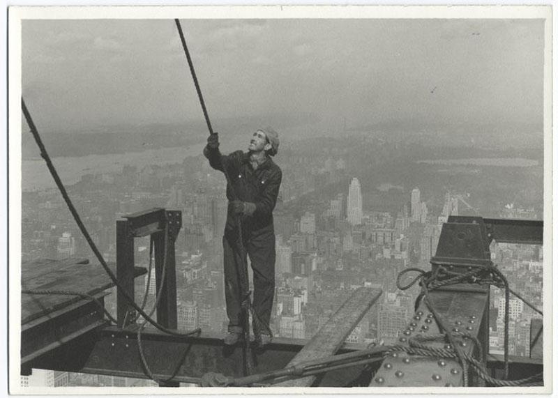 Строительство Empire State Building