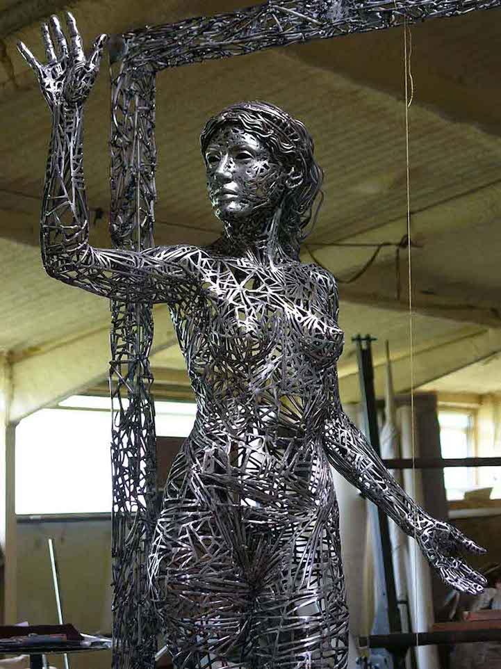 Скульптуры из стали Jordi Díez Fernández