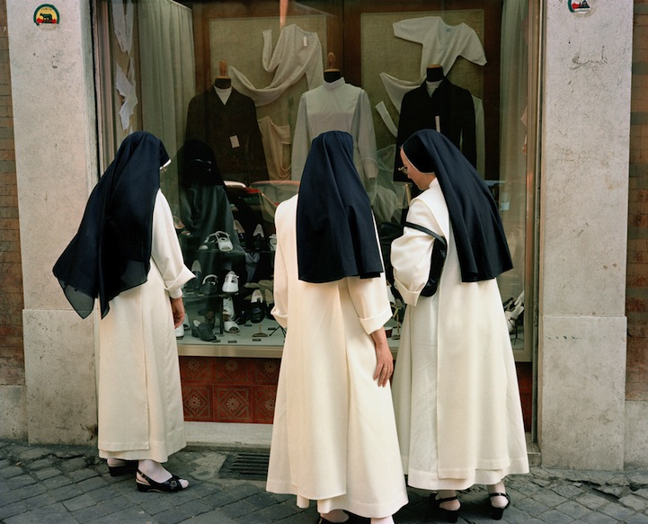 Италия в 1980-х годах в фотографиях Charles H. Traub