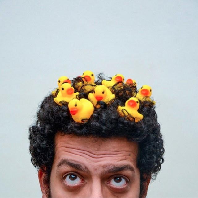 Автопортреты фотографа Ahmad El-Abi