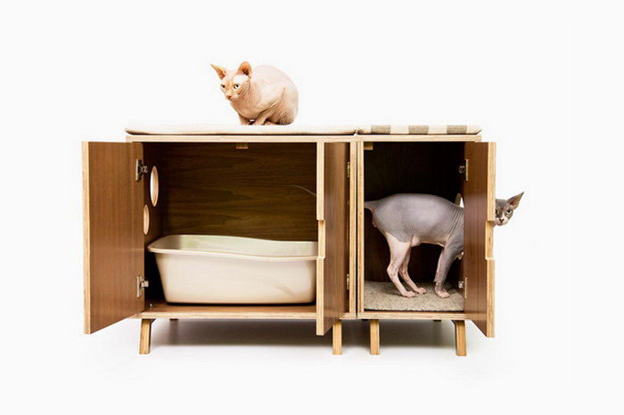 Кошачьи домики Modernist Cat