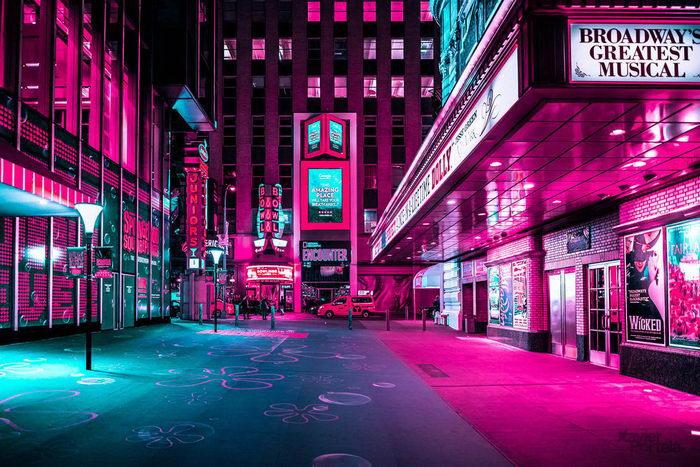 Огни Нью-Йорка: фотографии Xavier Portela